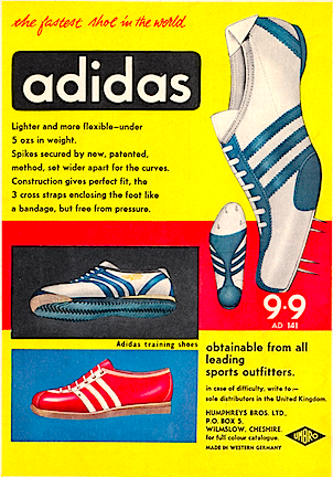 adidas 9,9 track shoes