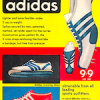 "adidas 9,9 track shoes ""the fastest shoe in the world"""
