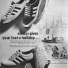 "adidas Adria / Kiel / E. Scholer / Match ""adidas gives your feet holiday"""