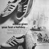 "adidas Adria / Kiel / E. Scholer / Match ""adidas gives your feet holiday"""