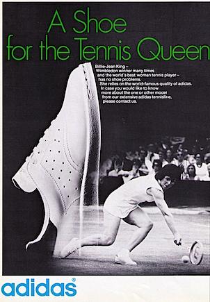 adidas Billie-Jean King tennis shoes