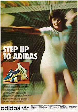adidas Billie-Jean King tennis shoes