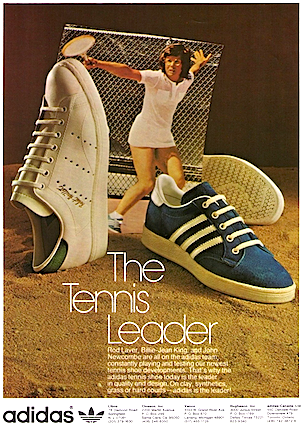 Adidas Billie Jean King Haillet Tennis Shoes The Tennis