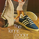 "adidas Billie-Jean King / Haillet tennis shoes ""The Tennis Leader"""