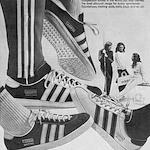 "adidas Jaguar / Gazelle / Buda ""They keep you fit …"""