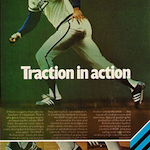 "adidas M.V.P. baseball shoes ""Traction In Action"""