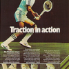 "adidas Nastase tennis shoes ""Traction in action"""