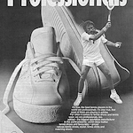 "adidas Newcombe tennis shoes ""Professionals"""