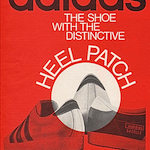 "adidas Olympiade / Gazelle ""THE SHOE WITH THE DISTINCTIVE HEEL PATCH"""