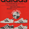 "adidas Olympiade / Italia / Rom ""With the distinctive HEEL PATCH"""