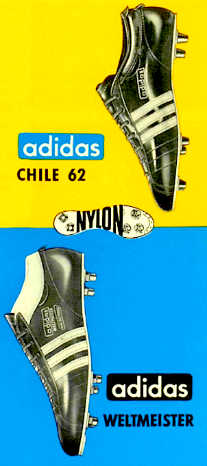 adidas Soccer Boots 1962
