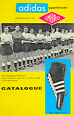 adidas catalogue 1962