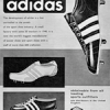 "adidas Soccer Boots / Track shoes / Training shoes ""the worlds finest sport shoe"""