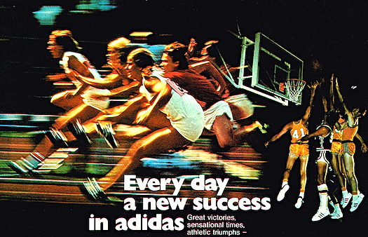 Every day a new success in adidas