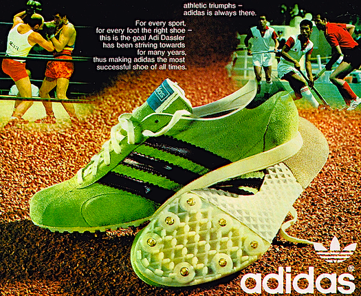 adidas Spider track shoes