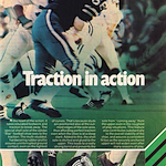 "adidas Star football shoe ""Traction in action"""
