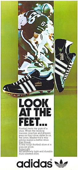 adidas Star Streak / Superlight football shoes
