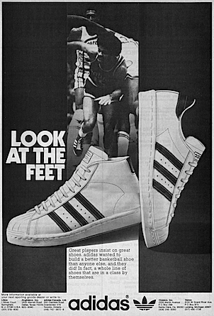 Adidas Superstar Promodel Look At The Feet Old Sneaker Posters
