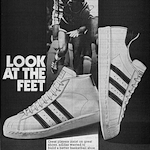 "adidas Superstar / Promodel ""LOOK AT THE FEET"""