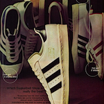 "adidas Superstar basketball shoes ""TELL THE TRUTH"""
