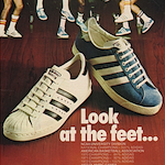 "adidas Superstar / adidas Americana ""Look at the feet …"""