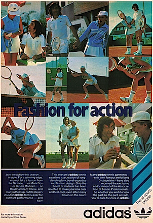 adidas tennis garments