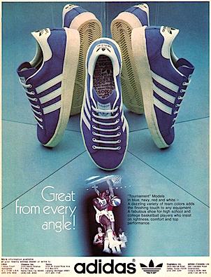 adidas Tournament basketball shoes