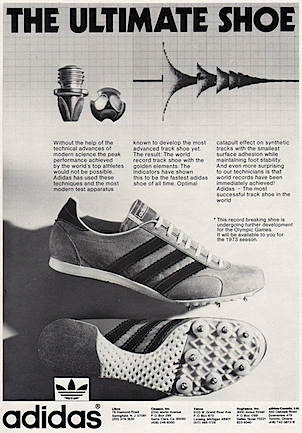 """adidas Track Shoes """"THE ULTIMATE SHOE"""""""
