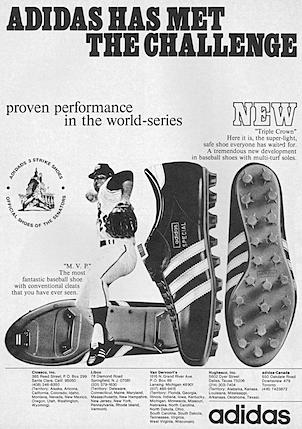 adidas Triple Crown / M.V.P. baseball shoes