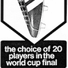 "adidas World Cup Soccer Boots ""the choice of 20 players in the world cup final"""
