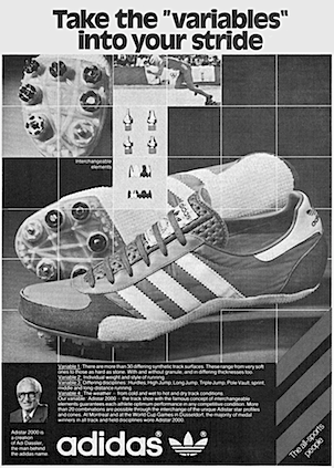 adidas adistar 2000 track & field shoes