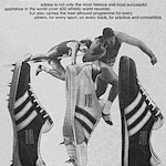 """adidas Catapult / Intervall / Shot and Discus track & field shoes""""adidas is Number One for all track and field events"""""""