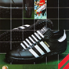 "adidas Gripper football shoe ""Take the extremes into your stride"""