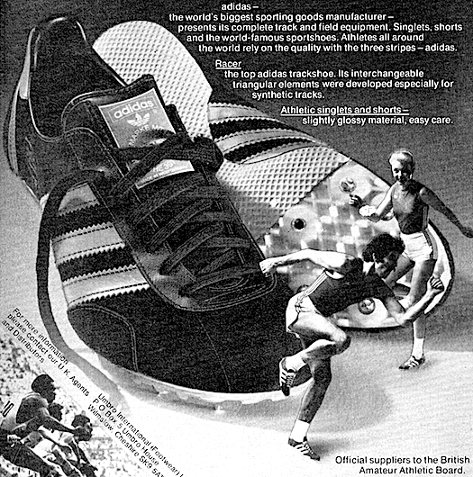 adidas Racer track shoes