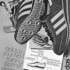 "adidas SL'76 training shoes ""adidas – your No.1 training partner"""