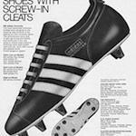 "adidas University football shoes ""adidas FOOTBALL SHOES WITH SCREW-IN CLEATS"""