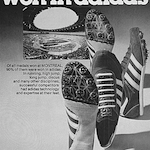 """adidas track & field shoes """"90% of medals won in adidas"""""""