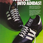 "adidas Turf Streak football shoes ""PUT YOUR FEET INTO ADIDAS!"""