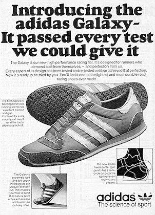 """adidas sports shoes """"STEP UP TO ADIDAS"""" 