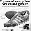 "adidas Galaxy running shoes ""Introducing the adidas Galaxy. It passed every test we could give it."""
