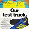 "adidas Marathon 80 running shoes ""Our test track."""