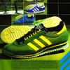 "adidas SL76 / Gazelle / Rom / Jeans training shoes ""safety first with adidas"""