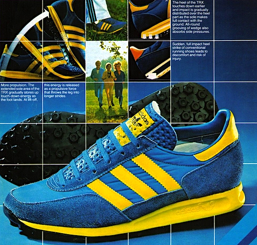 """5a598a2a48860e adidas TRX running shoes """"TRX – a revolution in Traction Dynamics ..."""