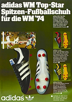 adidas WM Top-Star / Leeds / Burnley soccer shoes