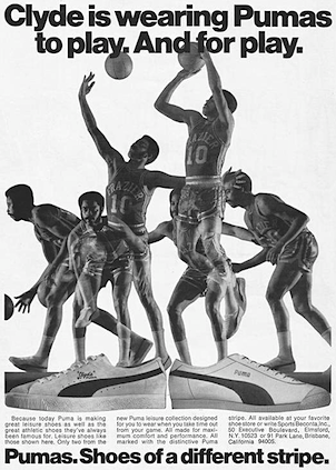 Puma Clyde basketball shoes