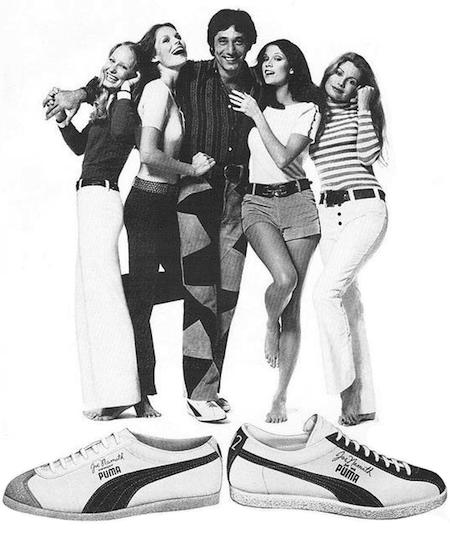 Puma Joe Namath signature shoes