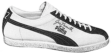 Puma Joe Namath signature shoes