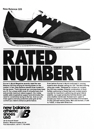 New balance 320 RATED NUMBER 1