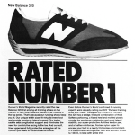 "New balance 320 ""RATED NUMBER 1"""