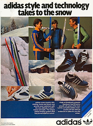 adidas cross-country ski line